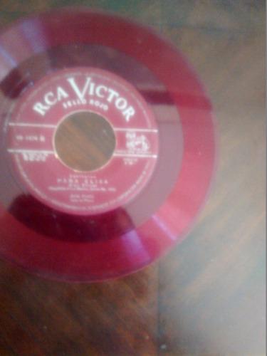 vinilo single de jose iturbi - revirie ( t113
