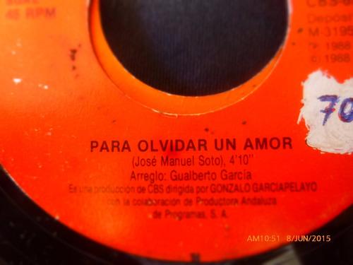 vinilo single de jose manuel soto - mi sueño ( q21