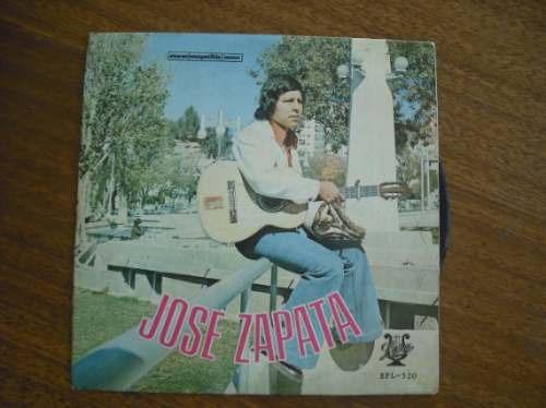 vinilo single de jose zapata ( h31