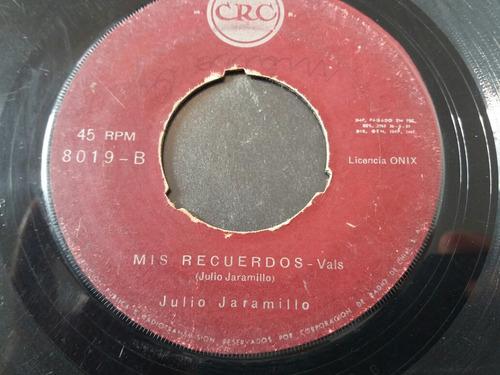 vinilo single de julio jaramillo besame mi amor ( v -79