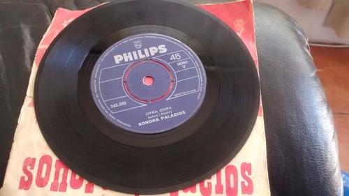 vinilo single de la sonora palacios - otra copa ( q140