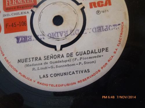 vinilo single de las comunicativas -- cielito lindo( a112