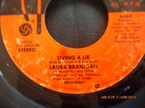 vinilo single de laura branigan -- gloria ( n148