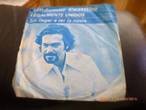 vinilo single  de lindomar castilho  -- legalmente un ( n36