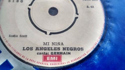 vinilo single de los angeles negros -ay amor   (a1317