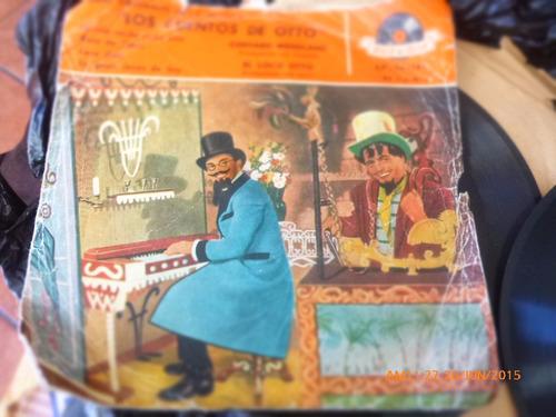 vinilo single de los cuentos de otto   --   -( n105
