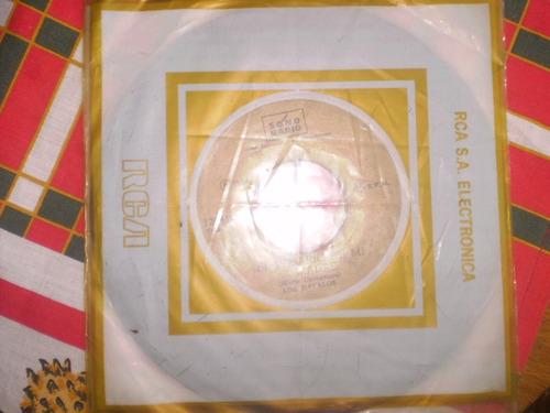 vinilo single de los davalos el rosario de mi madre ( b136