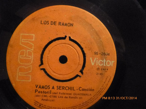 vinilo single de los de ramon -- bernabe -( b85