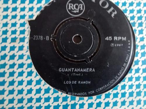 vinilo single de los de ramon -- guantanamera ( q149