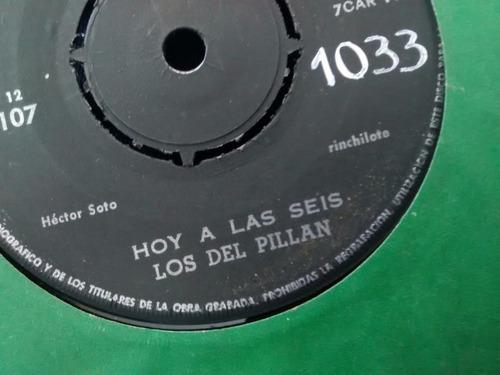 vinilo single de los del pillan - gloriosa refalosa ( t64
