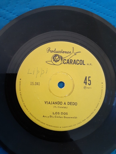 vinilo single de los dos  juan (o77