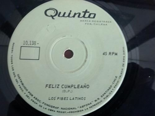 vinilo single de los pibes latinos - es un buen compa ( p123