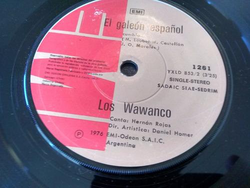 vinilo single de los wawanco -  agarrame la escalera( p108