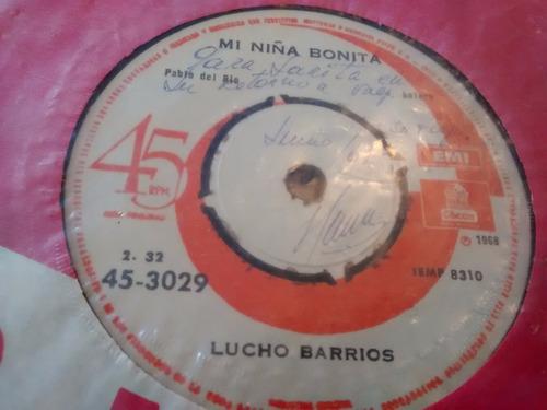 vinilo single de lucho barrios señor de los milagros ( t36