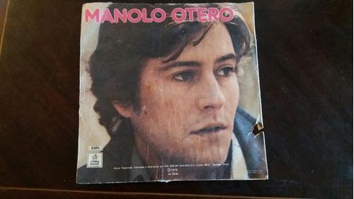 vinilo single de manolo otero bella mujer (o-50