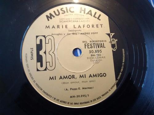 vinilo single de marie laforet - mi amor mi amigo( k52