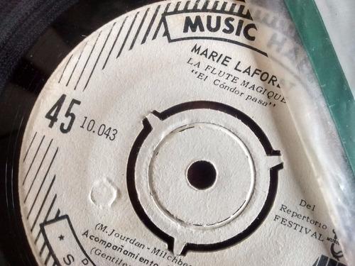vinilo single de marie laforetla flute magique ( t51
