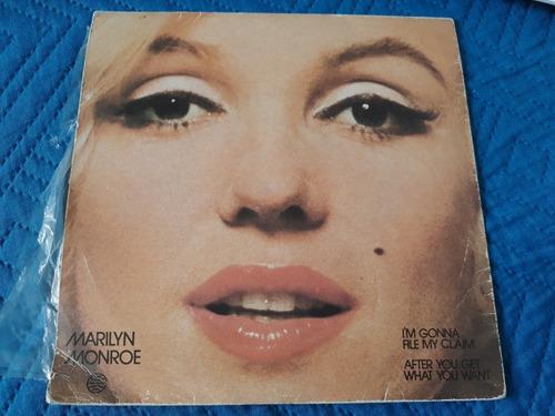 vinilo single de marilyn monroe mi gonna file(q163