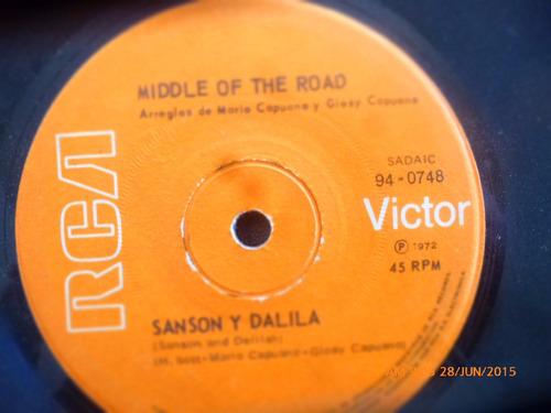 vinilo single de middle of the road - sacramento  ( n93