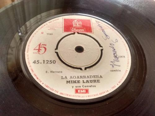 vinilo single de mike laure - el sinverguenza ( q120