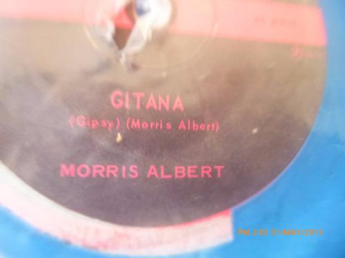 vinilo single de  morris albert  -- gitana  ( s25 -s24