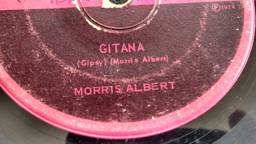 vinilo  single de - morris albert - sentimientos  ( u102