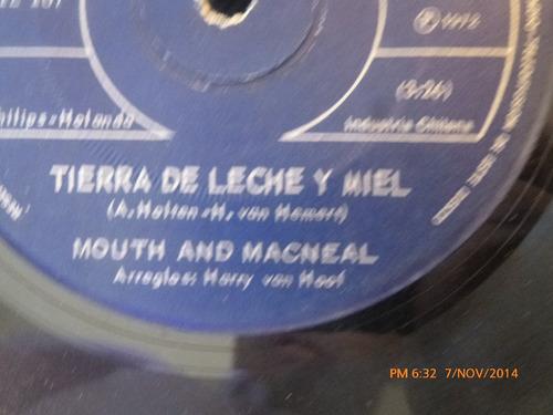 vinilo single de mouth and macneal -- como estas ( s111-u120