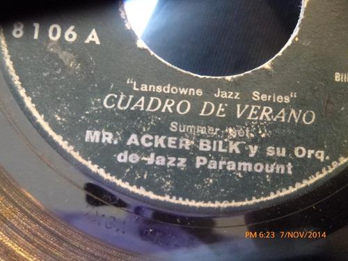 vinilo single de mr acker bilk --acker away( s148