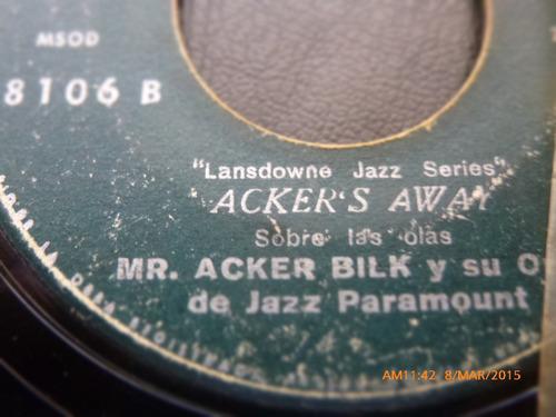 vinilo single de mr .acker bilk -cuadro de verano( i56