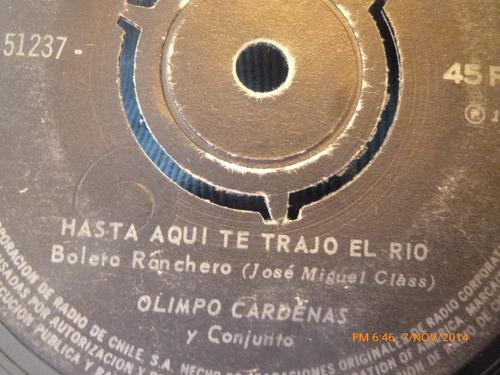 vinilo single de olimpo cardenas -- mi tortura(a488