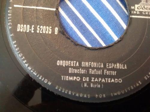 vinilo single de orquesta sinfonica española - tiempo ( p18
