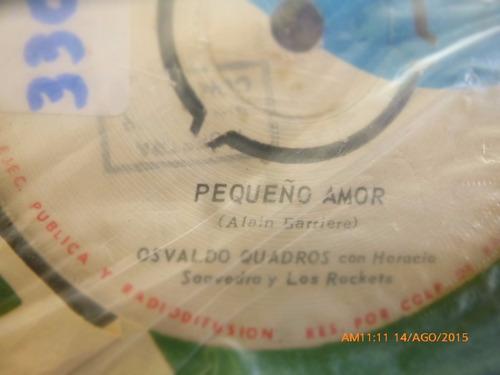 vinilo single de osvaldo quadros  muchacha agranada ( n33