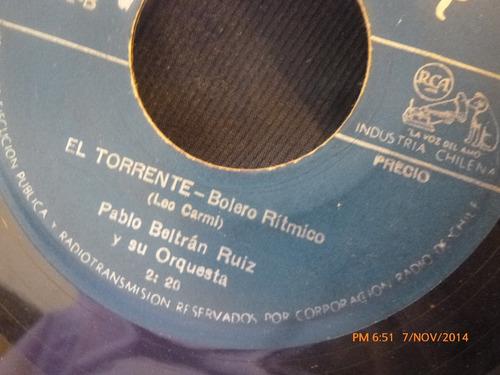 vinilo single de pablo beltran ruiz --el torrente( a97