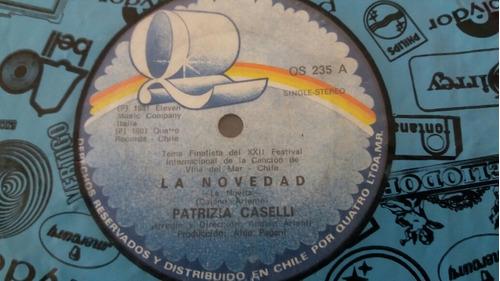 vinilo single de patricia caselli la novedad (o-40