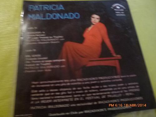 vinilo single de patricia maldonado - sin adios ( h25