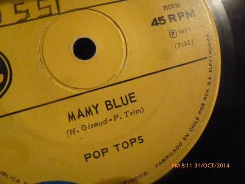 vinilo single de pop tops --camino a la libertad ( b94