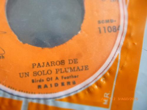 vinilo single de raiders -- el pavo  ( h34