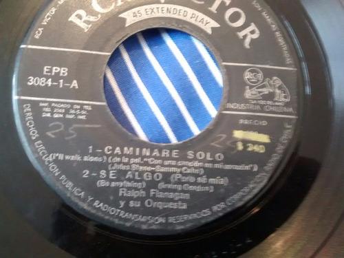 vinilo single de  ralph flanagan - beso de fuego ( p6