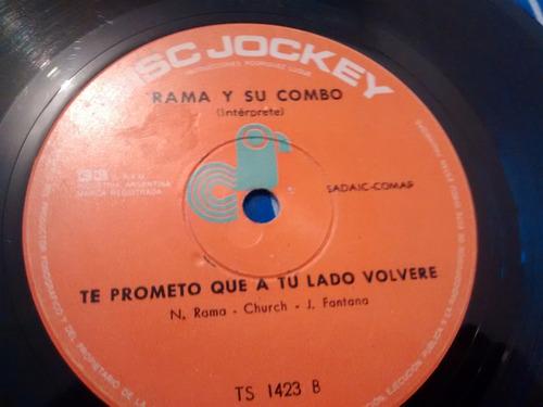 vinilo single de rama y su combo - el pendorcho ( k136