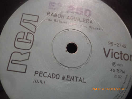 vinilo single  de ramon aguilera   - cariñosa -( b79