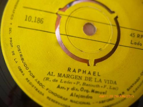 vinilo single de raphael --mi gran noche   -( n136