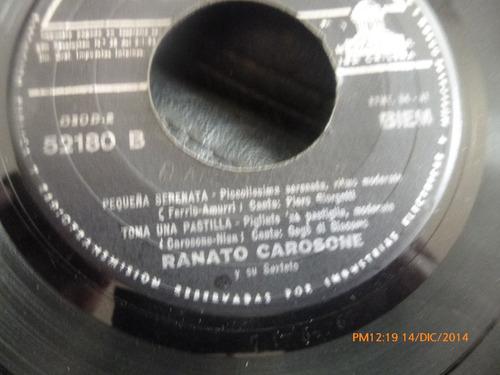 vinilo single de renato carosone - pequeña serenata (a143