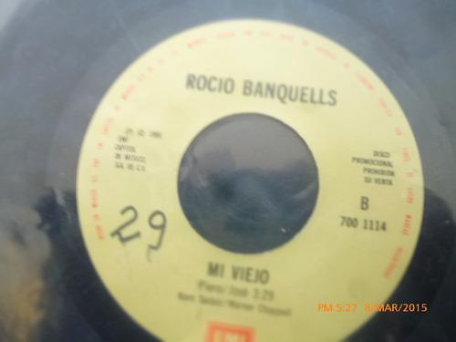 vinilo single de rocio banquells -- mi viejo ( i77