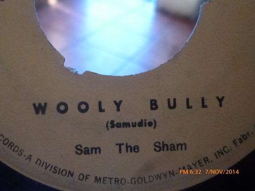 vinilo single de sam the sham - juimonos(a393