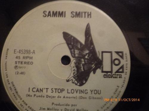 vinilo single  de sammi smith -- de grazias song ( b125