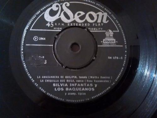 vinilo single de silvia infantas - arriba las palma - ( e79