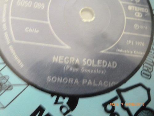 vinilo single de sonora palacios -negra soledad ( b100