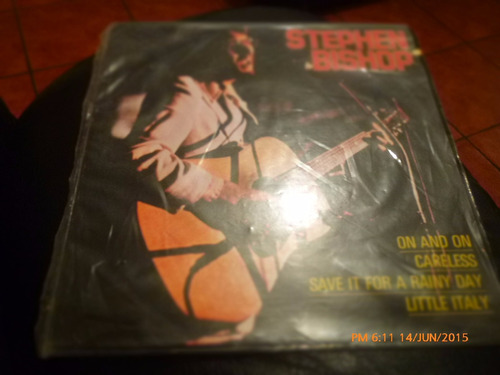 vinilo single de stephen -bishop -- careless ( q12