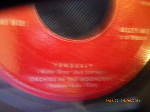 vinilo single de tenderly -- orchids in the moon (a371