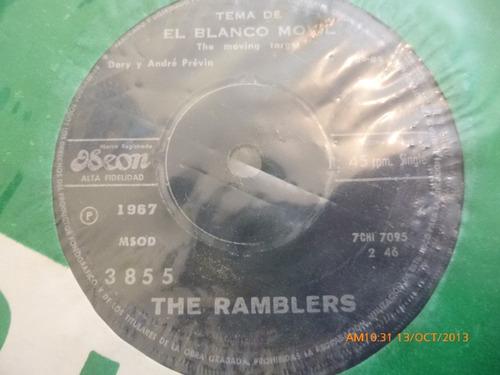 vinilo single de the ramblers - a veces en viernes- ( b29